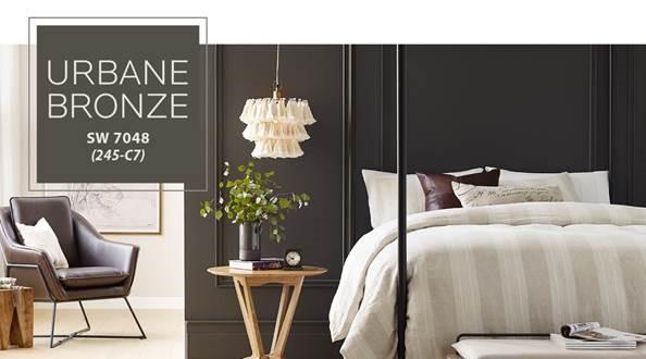 Image of Urbane Bronze bedroom